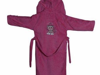 SIRETEX - SENSEI - peignoir brodé enfant 400gr/m² princesse catsy - Children's Dressing Gown