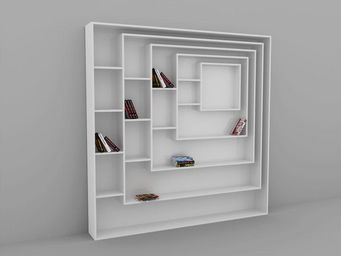 MALHERBE EDITION - bibliothèque carrée - Modular Bookcase