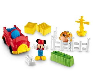 Fisher-Price - mickey - mickey a la ferme - y2307 - Toy Farm Animals