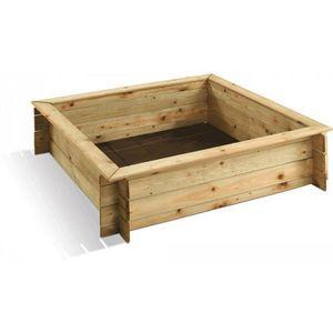 JARDIPOLYS - bac à sable avec couvercle - Sandbox
