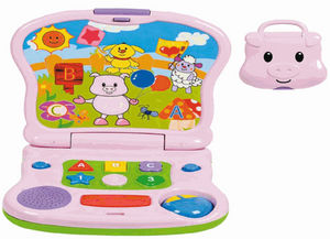 WINFUN - ordinateur d'éveil cochon avec effets lumineux et - Early Years Toy