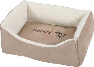ZOLUX - divan hapy en tissu microfibre sable 50x40x18cm - Doggy Bed
