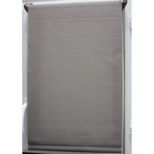 Luance - store enrouleur tamisant 45x90 cm taupe - Light Blocking Blind
