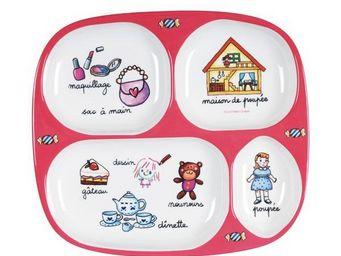 La Chaise Longue - plateau repas mélamine fille - Infant Bowl