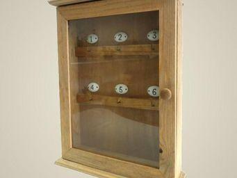 L'HERITIER DU TEMPS - armoire à clés murale en bois - Key Cupboard