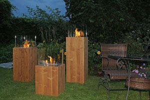 ALFRA FRANCE - square antique - Flueless Burner Fireplace