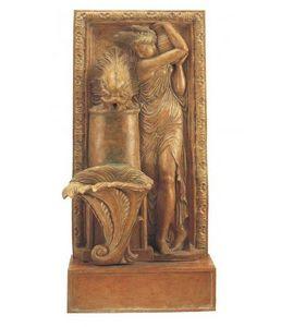 Fd Mediterranee - con donna - Wall Fountain