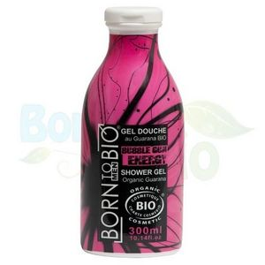 BORN TO BIO - gel douche bio homme bubble gum energy - 300ml - b - Shower Gel