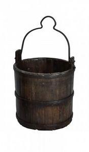 Demeure et Jardin - seau en bois - Bucket