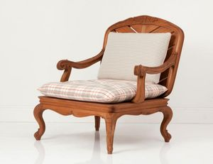 CHELINI -  - Garden Armchair