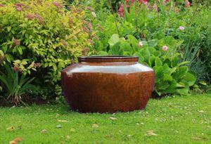 JARDIN D'ELEGANCE - dark brown diamond - Flower Container