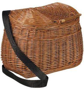 Aubry-Gaspard - panier à pêche en osier buff - Fisherman's Basket