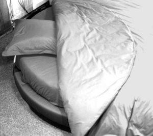 NICOLE GERMAIN VOSGES -  - Round Bed Sheet