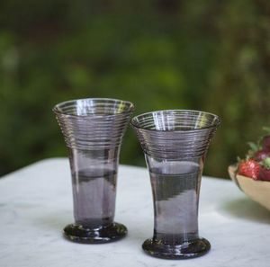 A CASA BIANCA - manacor amethyst  - Soft Drink Glass