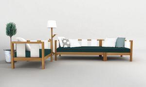 DEESAWAT - tiera - Garden Sofa