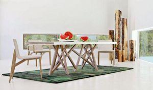 ROCHE BOBOIS - saga - Rectangular Dining Table