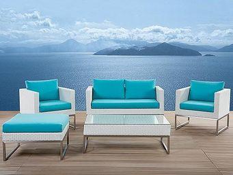 BELIANI - crema - Garden Furniture Set