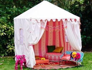 RAJ TENT CLUB - tent pink - Children's Garden Play House