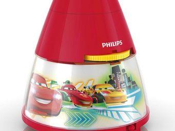 Philips - disney - veilleuse à pile projecteur rouge cars h1 - Children's Nightlight