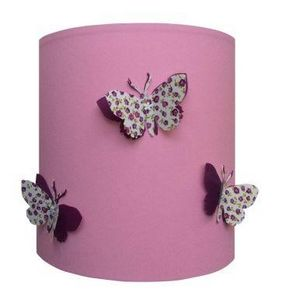 LILI POUCE - liberty violet - Child Lampshade