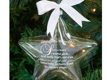Riviera Maison - santa baby - Christmas Tree Decoration