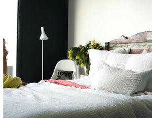 Maison De Vacances - lin lavé froissé matelassé - Bedspread