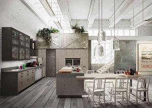 Snaidero - .loft-- - Built In Kitchen
