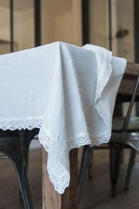 Couleur Chanvre - chanvre pur#' - Rectangular Tablecloth