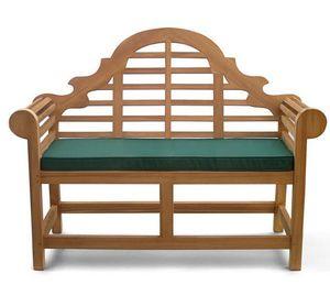 Lindsey Teak - lutyens teak  - Garden Bench