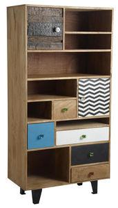Aubry-Gaspard - bibliothèque originale en manguier - Bookcase