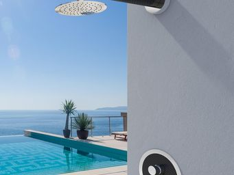INOXSTYLE - capri r - Outdoor Shower