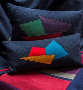 Anne Becker -  - Rectangular Cushion