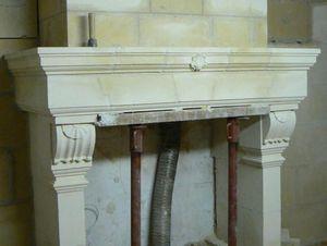 Atelier Frédéric THIBAULT -  - Fireplace Mantel