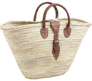 AUBRY GASPARD - panier couffin avec poignées et fermeture - Shopping Basket