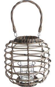 Aubry-Gaspard - lanterne osier - Outdoor Lantern