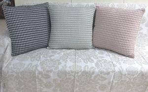ITI  - Indian Textile Innovation - waffle - Cushion Cover