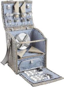 AUBRY GASPARD - panier pique-nique avec compartiment isotherme en  - Picnic Basket