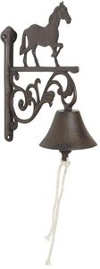 Aubry-Gaspard - cloche ancienne cheval en fonte - Outdoor Bell