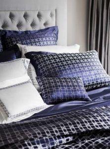 GINGERLILY - geometric navy - Pillowcase