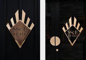 DESJEUX DELAYE - --hôtel snob - Interior Decoration Plan