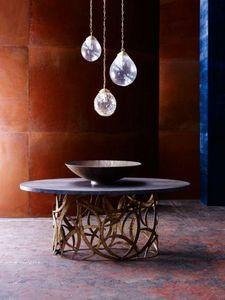 Porta Romana - elliptical miro - Round Diner Table