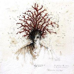 HANNA SIDOROWICZ - porteur de rêves - Contemporary Painting