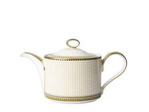 ROYAL CROWN DERBY - oscillate ochre - Teapot