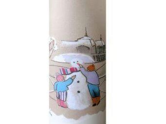 TOUCH OF LIGHT - le bonhomme de neige - Children's Table Lamp