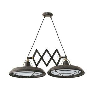 FARO - suspension extérieure double extensible plec led i - Outdoor Hanging Lamp