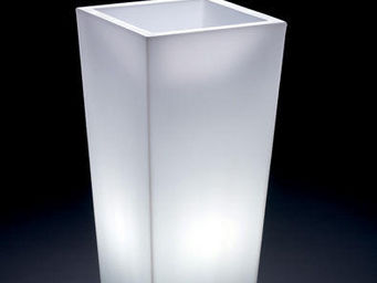 Lyxo by Veca - cache-pot genesis quadrato outdoor - Illuminated Pot