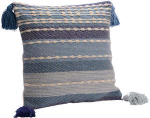 Amadeus - coussin bleu horizon - Square Cushion