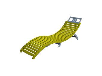 City Green - bain de soleil pliant burano - 178 x 54 x 69 cm -  - Sun Lounger