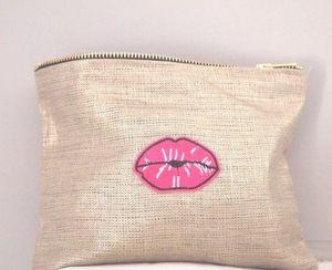 nuance pivoine - kiss - Makeup Bag