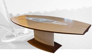 Creation Desmarchelier - miss marine - Oval Dining Table